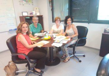 Reunión con Directora General de Políticas Sociales e Infancia y Familia de la Junta de Extremadura, Doña Carmen Nuñez Cumplido